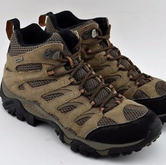 b7bc8efba7b MERRELL Earth Continuum Waterproof Men's Hiking Sh